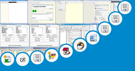 Software collection for Borland Paradox Db Editor