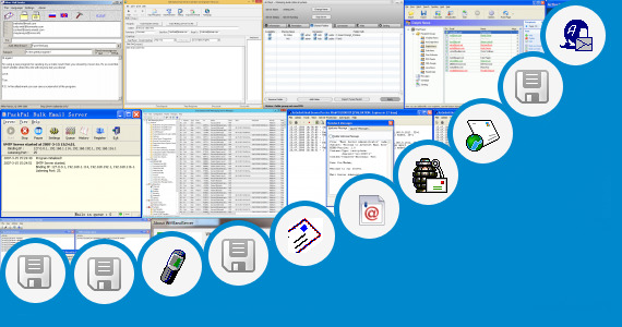 Software collection for Wifi Sender Server