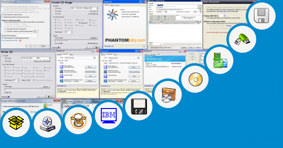 Software collection for Virtual Flash Drive Emulator