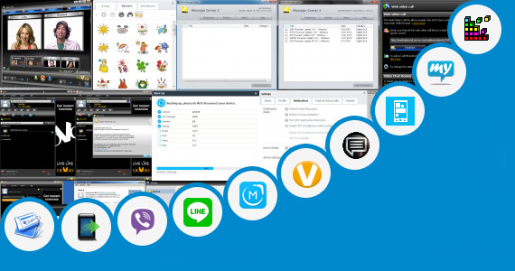 Software collection for Boxer Messaging App