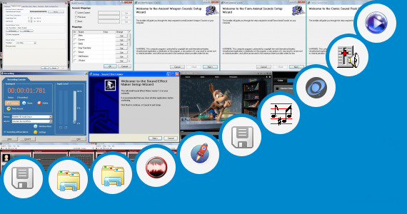 Software collection for Sound Effect Srs 3d Sound Effect