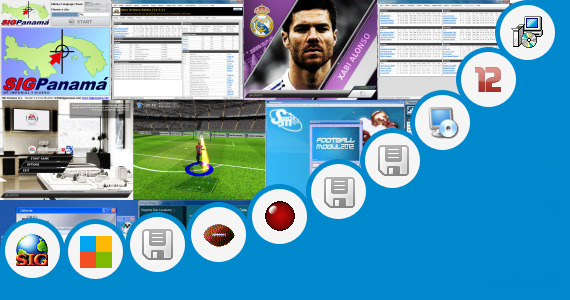 Software collection for Real Football Manager 2012 320x240