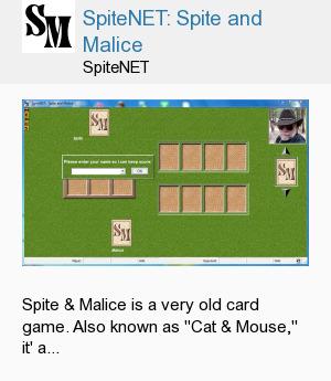 SpiteNET: Spite and Malice