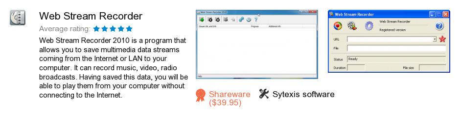 Web Stream Recorder