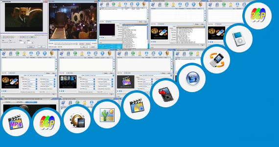 Software collection for Abc 3gp Video Center