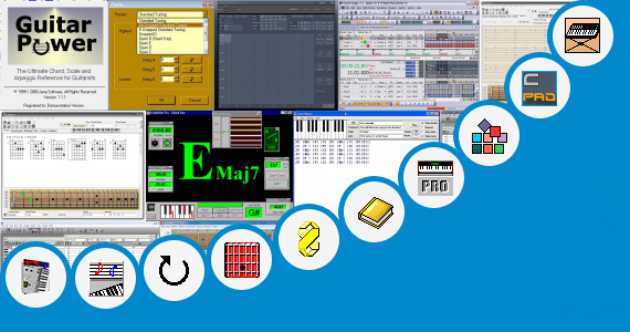 Software collection for Chord Sequencer