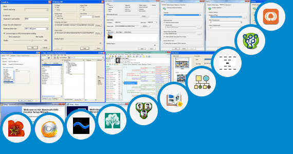Software collection for Photo Editing Family Tree