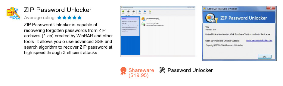 ZIP Password Unlocker