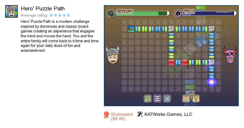 Hero's Puzzle Path