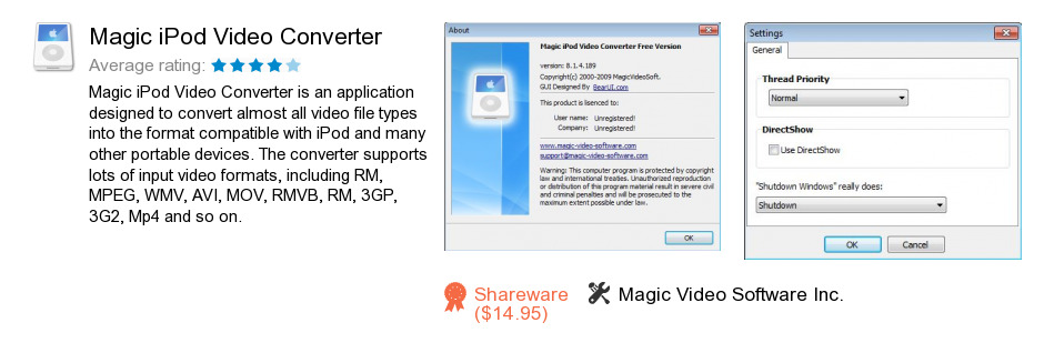 Magic iPod Video Converter