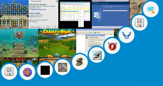 Software collection for Temple Run Java Touchscreen Game