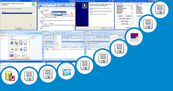 Software collection for Add Ins Access 2003