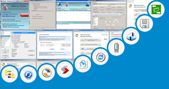 Software collection for Synchronizing Drives
