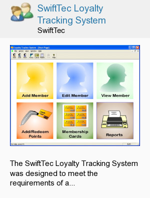 SwiftTec Loyalty Tracking System