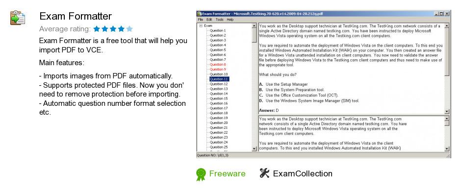 Exam Formatter