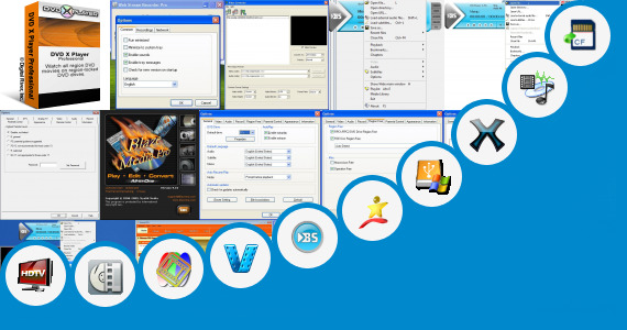 Software collection for Sigma Media Player Pro
