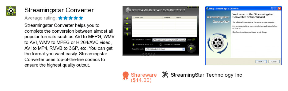 Streamingstar Converter