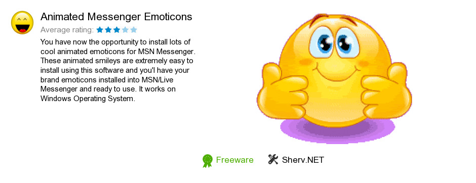 Instant Message Emoticons : Free animated messenger emoticons download bytes
