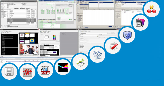 Software collection for Fro Criteria Project Management