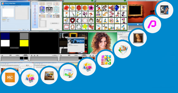 Software collection for Heart Photo Booth Collage Maker