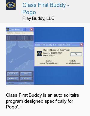 Class First Buddy - Pogo