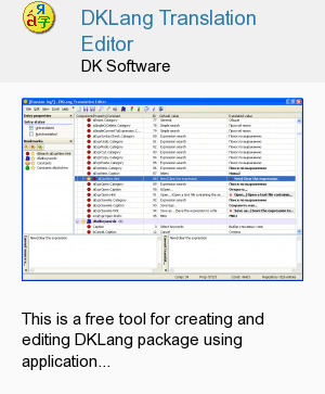 DKLang Translation Editor
