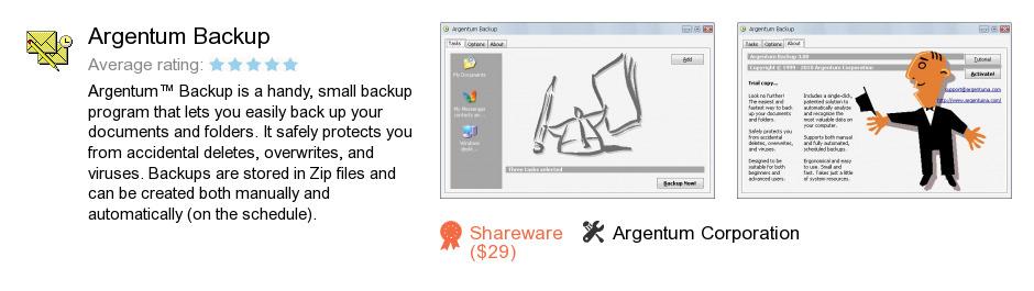 Argentum Backup