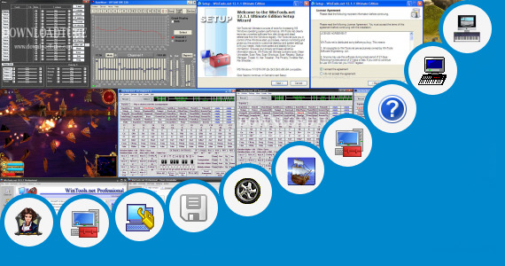 Software collection for One Man Band 11 Serial