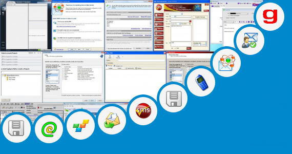 Software collection for Yahoo Bulk Sender Application