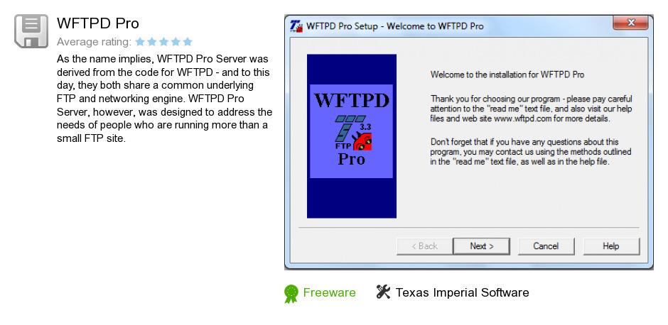 WFTPD Pro