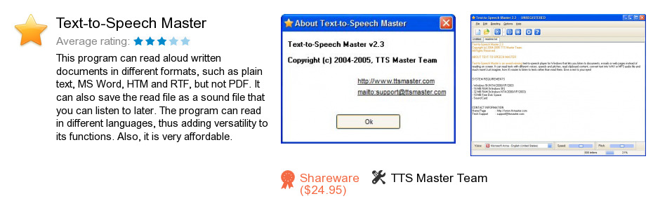 Text-to-Speech Master