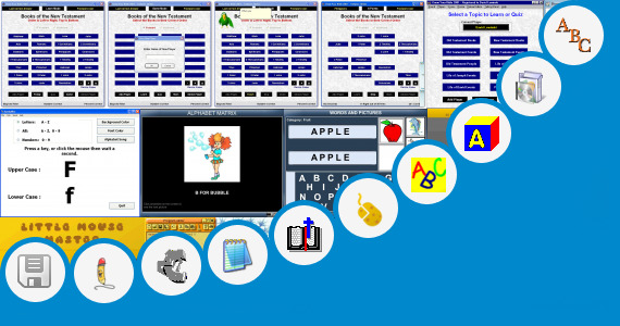 Software collection for Teaching The Abc To Children