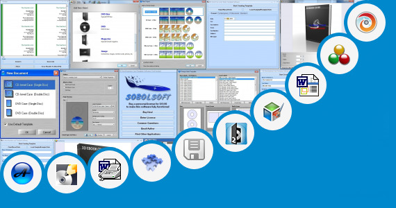 Software collection for Template Cover Buku