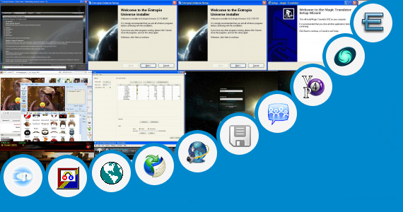 Software collection for Universal Online Camera Chat