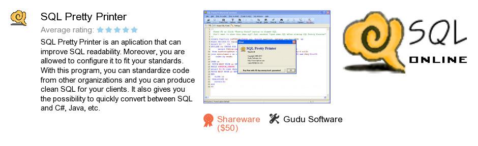 SQL Pretty Printer