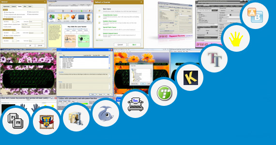 Software collection for Ace Typing Tutor
