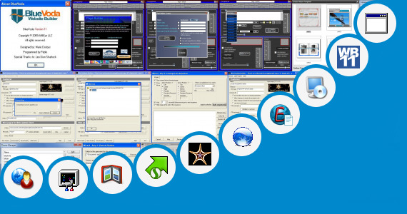 BlueVoda Website Builder version