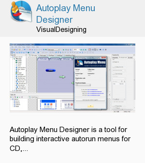 Autoplay Menu Designer