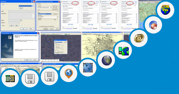 Software collection for Cara Transfer Data Gps Ke Autocad