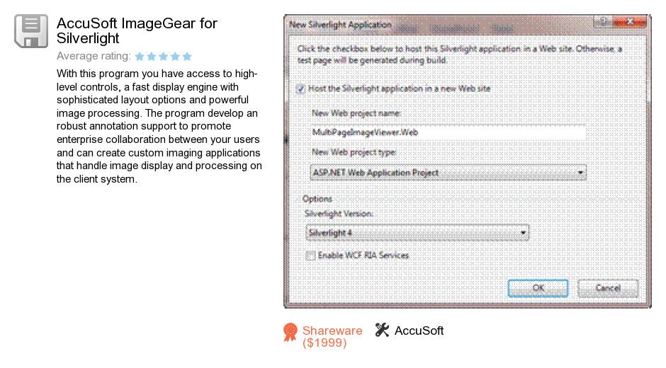 AccuSoft ImageGear for Silverlight