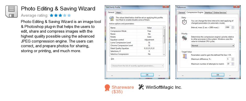 Photo Editing & Saving Wizard