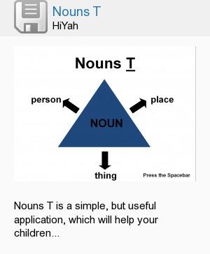 Nouns T