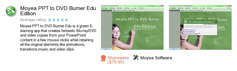 Moyea PPT to DVD Burner Edu Edition