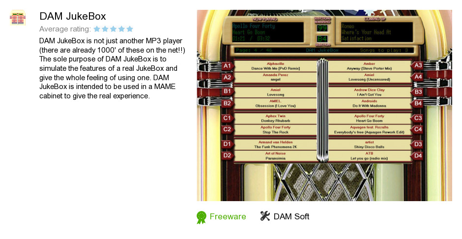 DAM JukeBox