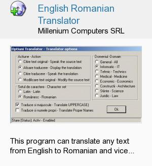 English Romanian Translator