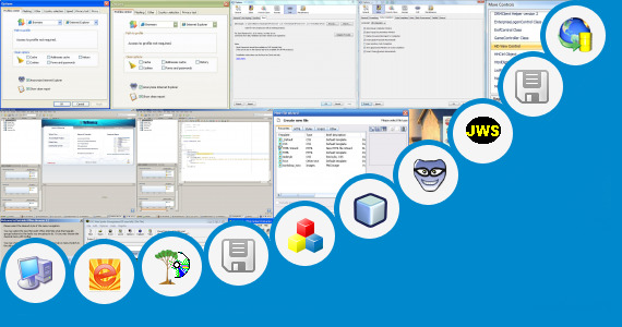 Software collection for Mini Project Using Web Technology