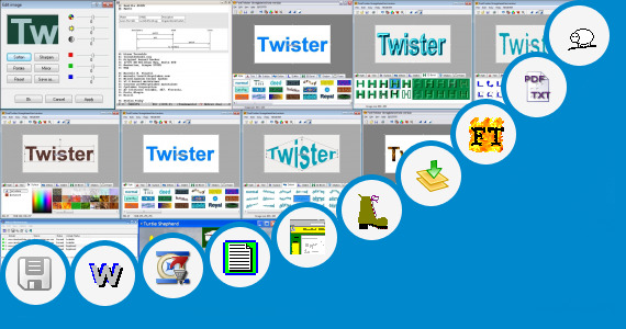 Software collection for Descriptive Text Turtle