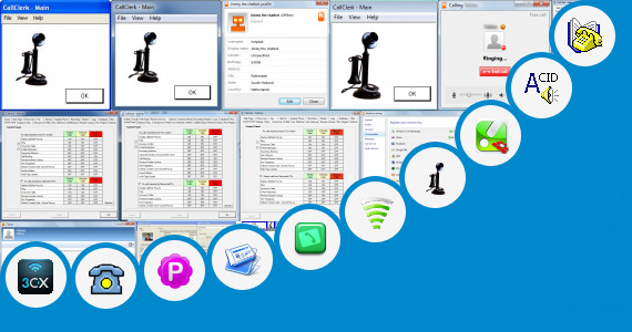 Software collection for Phone Call Receiver Software