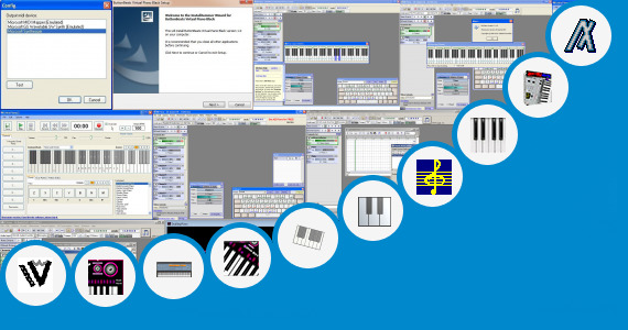 Software collection for Casio Piano Keyboard Software