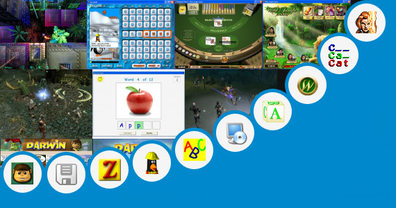 Software collection for Free Spelling Jungle Game